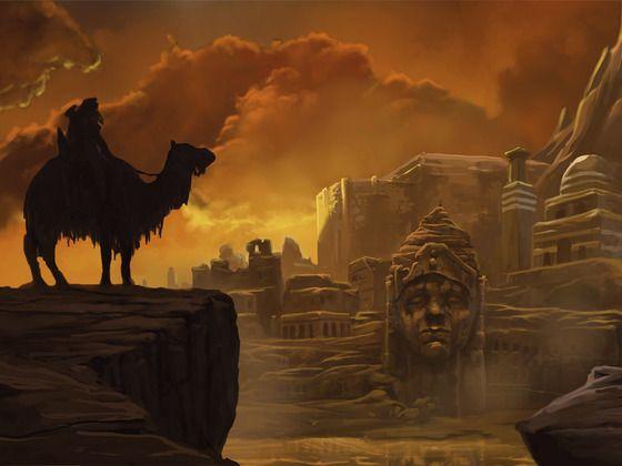 Tales From the Fallen Empire: Sword and Sorcery Setting by James Carpio, via Kickstarter.