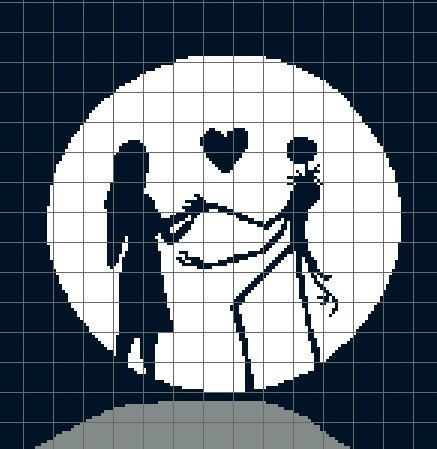 53 best Cross Stitch Nightmare Before Christmas images on ...