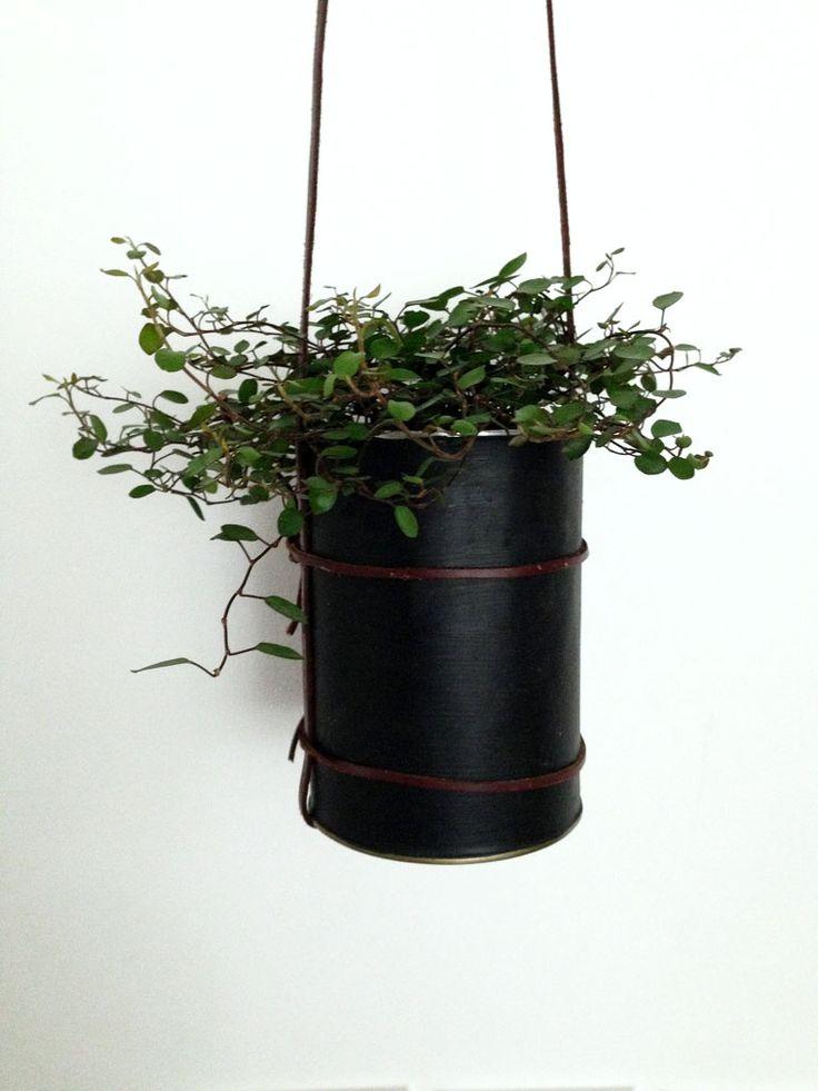 Dose Upcycling - Blumenampel