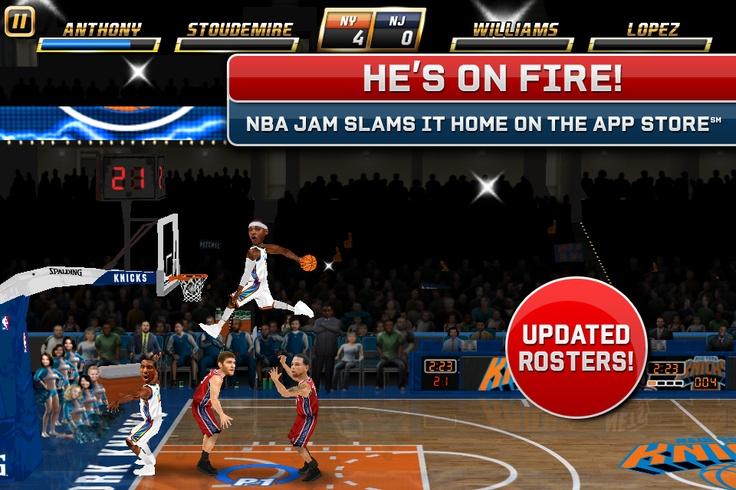 NBA JAM by EA SPORTS™ BOOMSHAKALAKA!!! Jam with a friend