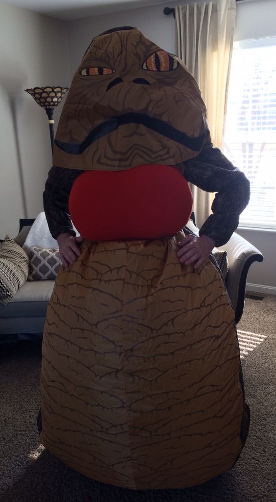 Female Jabba the Hutt Costume