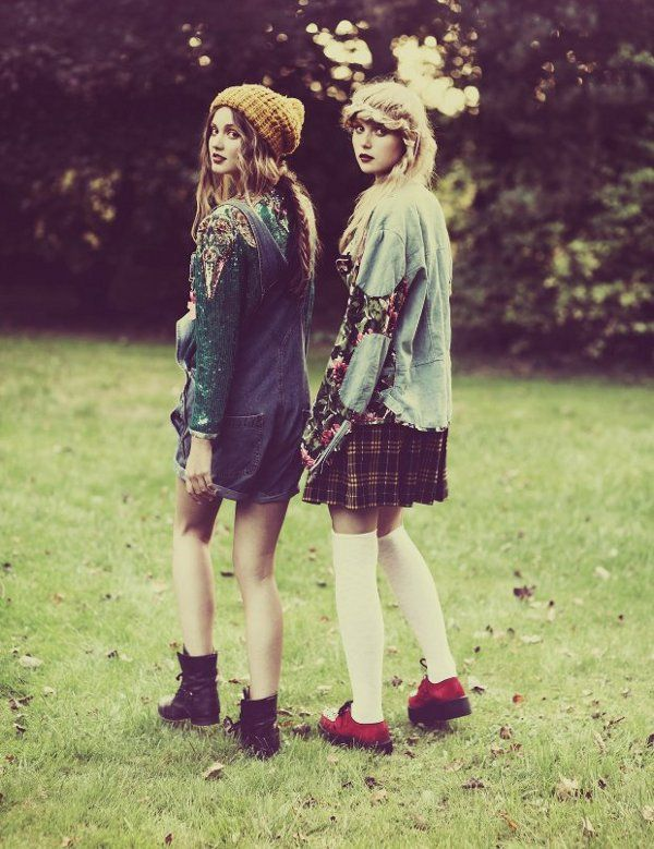 90s grungeHipster, Fashion, Best Friends, Plaid Skirts, Style, Clothing, Outfit, Cream Puff, 90S Grunge