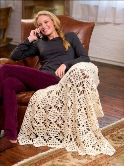 Light Lace Throw