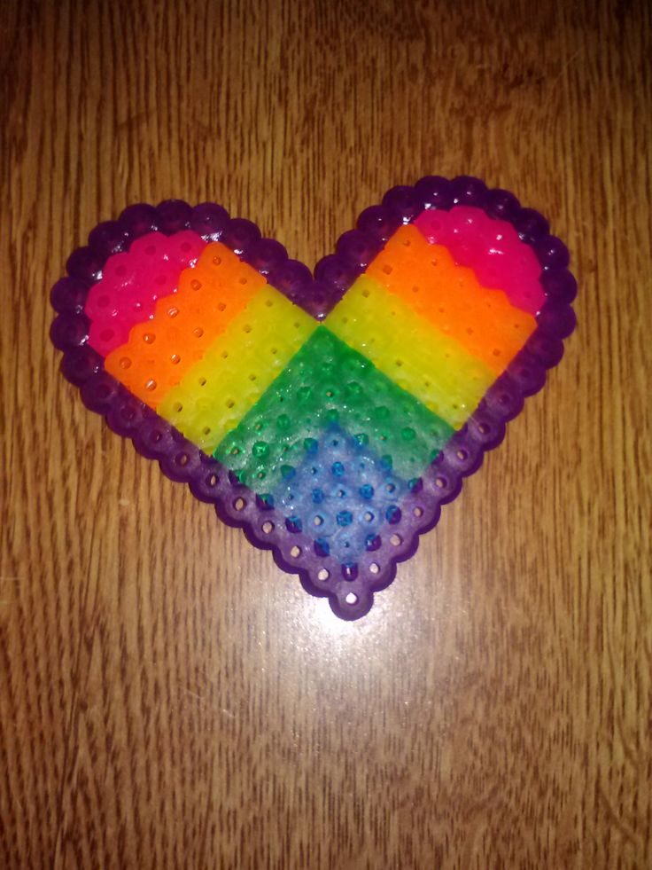 1000+ images about Perler Beads on Pinterest |Perler Bead Heart
