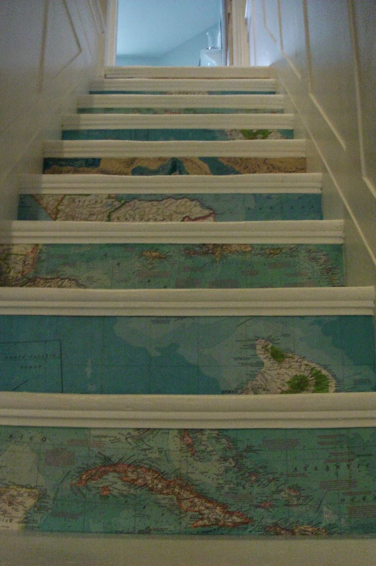 Best 25 Painted Stair Risers Ideas On Pinterest Stair