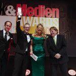 """Gewinner Druck&MedienAwards 2014 – themediahouse Gmbh mit dem Maschinenkonzept """"Motioncutter"""".  www.motioncutter.com"""