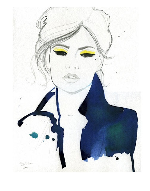 by Jessica Durrant Fashion Illustrations