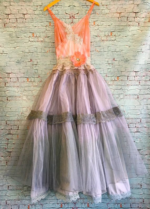 Reserved for Sarah dip dyed tulle fairytale by mermaidmisskristin