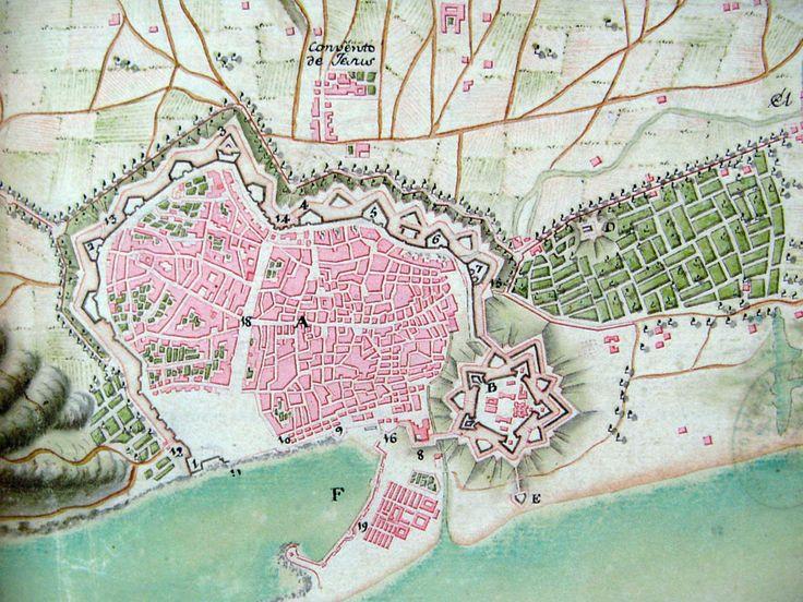 La ciutadella    Vista de Barcelona amb la ciutadella militar a mitjan segle XVIII.  La construcció de la ciutadella i la creació d'un nou perímetre urbà al sector oriental de la ciutat va donar pas, a partir del 1753, a la regularització de la façana marítima de Barcelona. En aquesta data va començar oficialment la construcció del barri de la Barceloneta, amb la col·locació de la primera pedra.