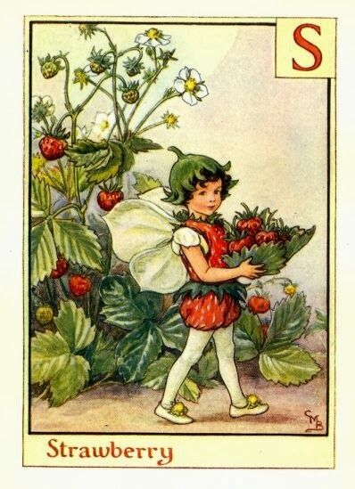 Stop...have a chat: Art friday: S is for strawberries Kunst met aardbeien