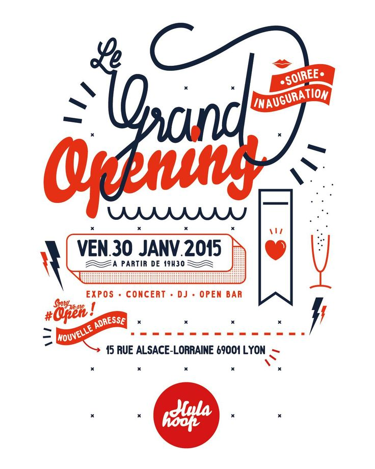 20 best Grand opening images on Pinterest Grand opening - best of invitation card sample for inauguration
