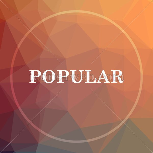 Popular Low Poly Icon Website Low Poly Icon In 2020 Web Icons Website Icons Royalty Free Icons