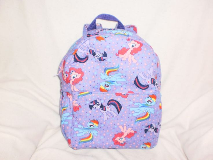Child's My little pony  backpack by bagsbyjune on Etsy