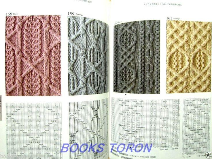 New Knitting Pattern Books : Oltre 1000 immagini su Cable, aran, brioche, fishermans rib, knit one be...