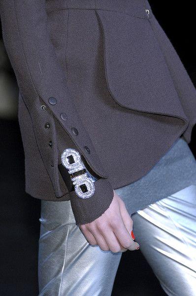 Karl Lagerfeld at Paris Fall 2010 (Details)
