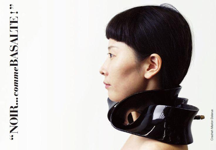 """Marion Delarue - Cracheh I, réalisé en 2011, qui sera exposé à """"noir... comme Basalte!"""""""