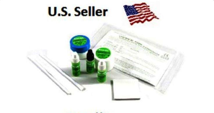 5gm - 5gm PRIME DENT Dental Composite Chemical Self Cure KIT w Bonding  / Pads  #PRIMEDENT
