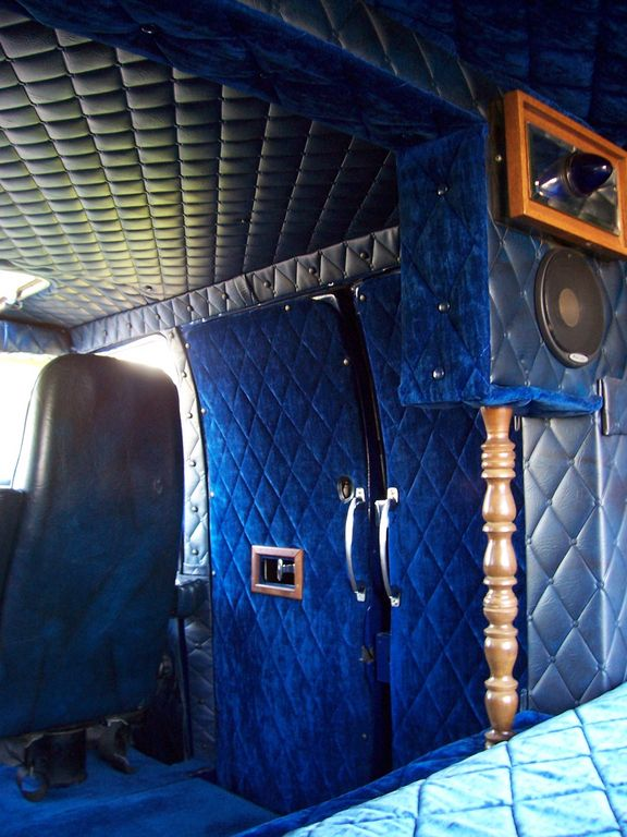 1977 Dodge B Series Custom Van Interiors Pinterest