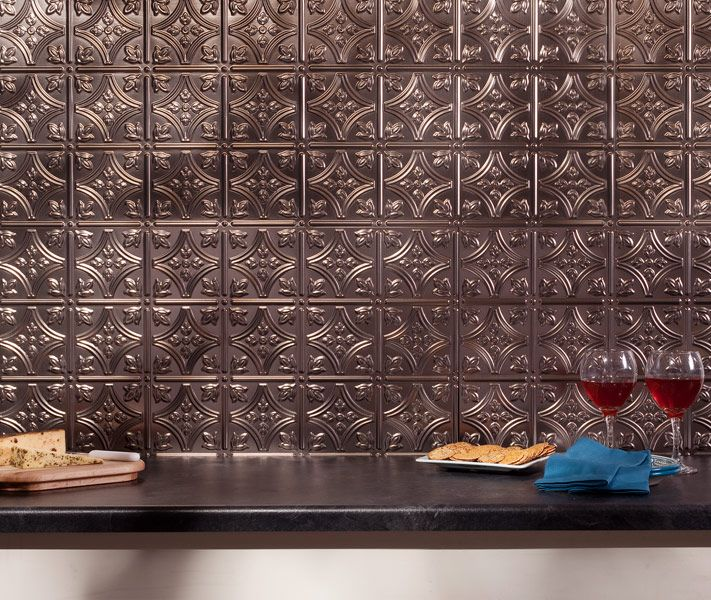 Fasade Traditional Style 10 Brushed Aluminum 18 In X 24: 1000+ Images About Fasade Backsplash Panels On Pinterest