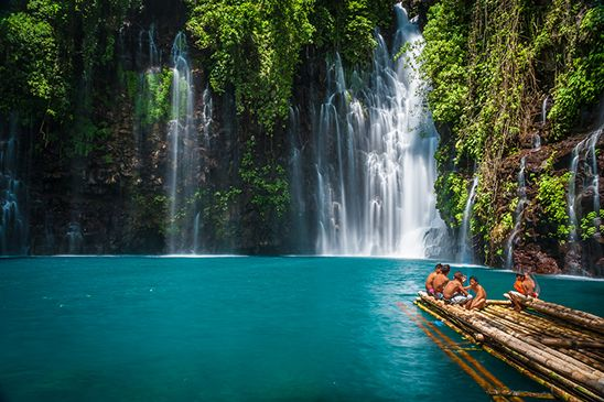 Tinago Falls, Philippines // 8 Travel Destinations You've Never Heard Of