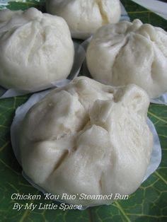 I personally find that bao making is very challenging eventhough I've been making it so frequently. Though, it's just a simple white steamed...