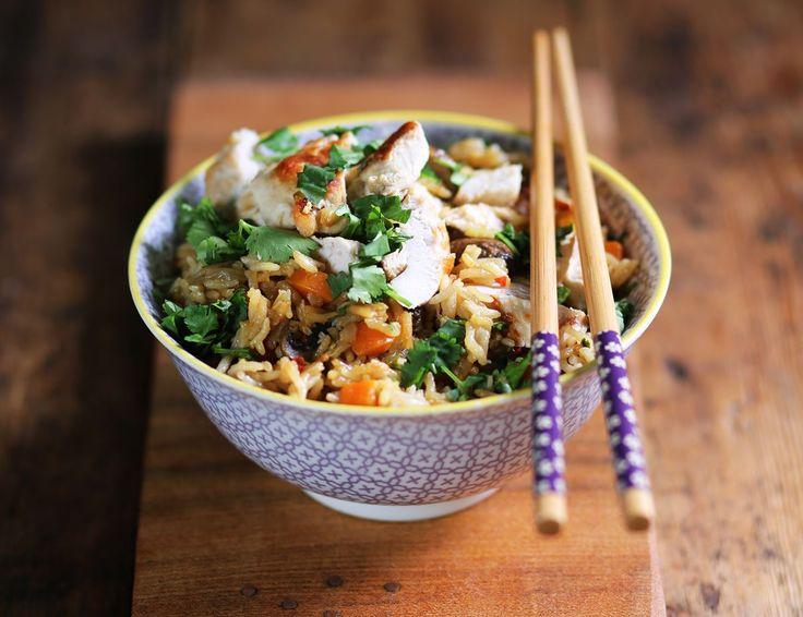 Speedy Chinese Claypot Chicken & Rice Recipe | Abel & Cole #ChineseNewYear #organic #abelandcole #recipe #seasonal