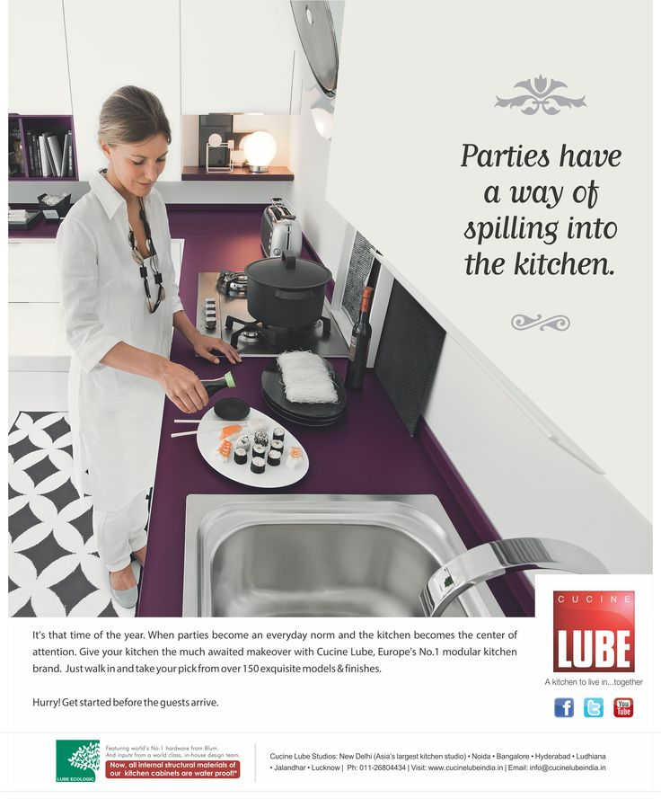 Cucine Lube India appeared in Good Homes, Better Interiors and Casaviva Magazines in September 2013