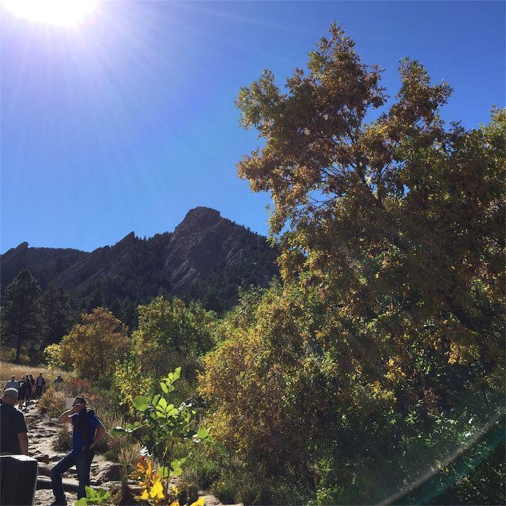 Flatironsという公園でハイキング。公園といってもアメリカなので結局本格的にハイキングできますよ。いろんなトレイルありますが私はGrand Canyon Trailheadに車をとめて適当に2時間くらいトレイルを散策しました。