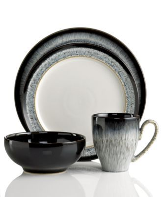 denby dinnerware halo 4 piece place setting