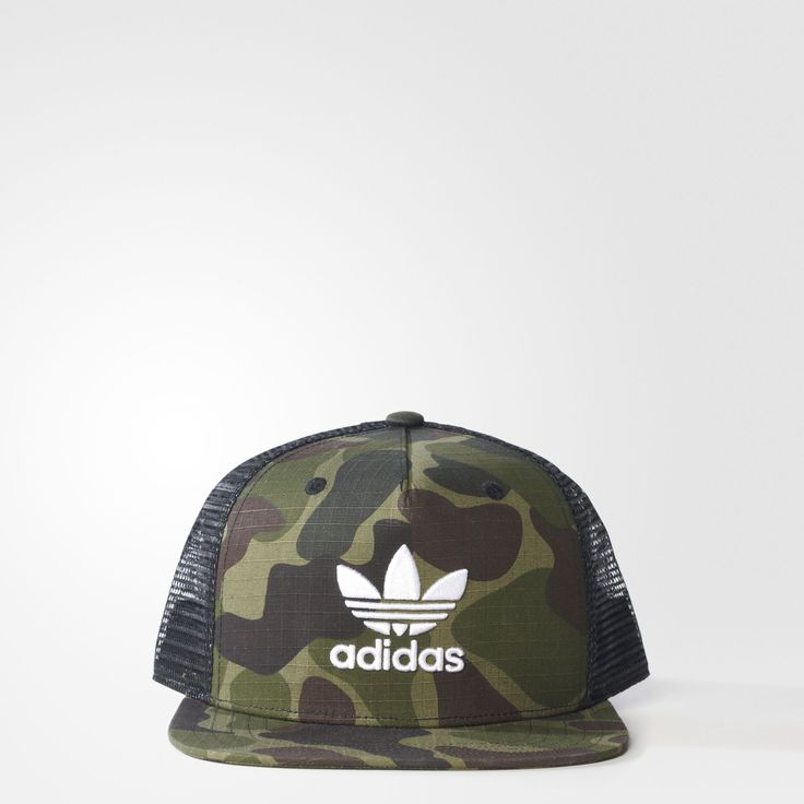 adidas - Camouflage Trucker Cap