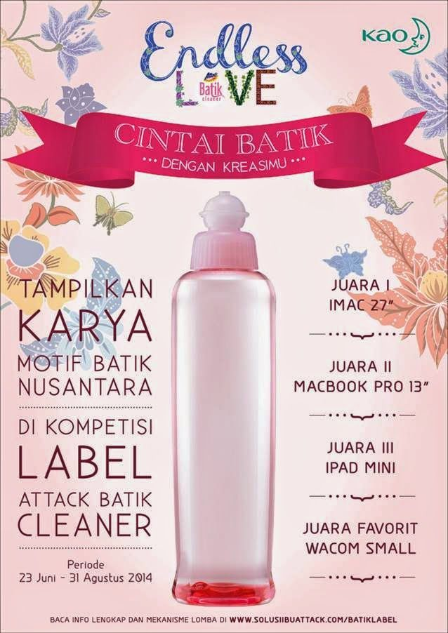 Info lomba label batik. Hadiahnya Imac lhoo...