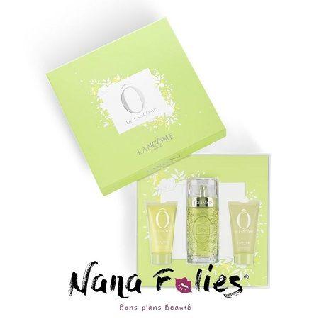 Coffret Ô de Lancôme - 62.05€ #lancome #parfum #coffret #été #soleil #cosmetics #geldouche #laitcorps #soin