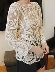 Women's Casual Micro-elastic Long Sleeve Regular T-shirt/Shirt/Blouse ( Cotton )(636078). Get sizzling discounts up to 70% at Light in the box using Coupon and Promo Codes.