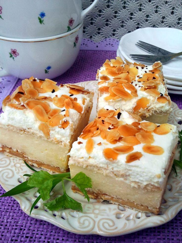 Domowa Cukierenka - Domowa Kuchnia: migdałowiec na krakersach