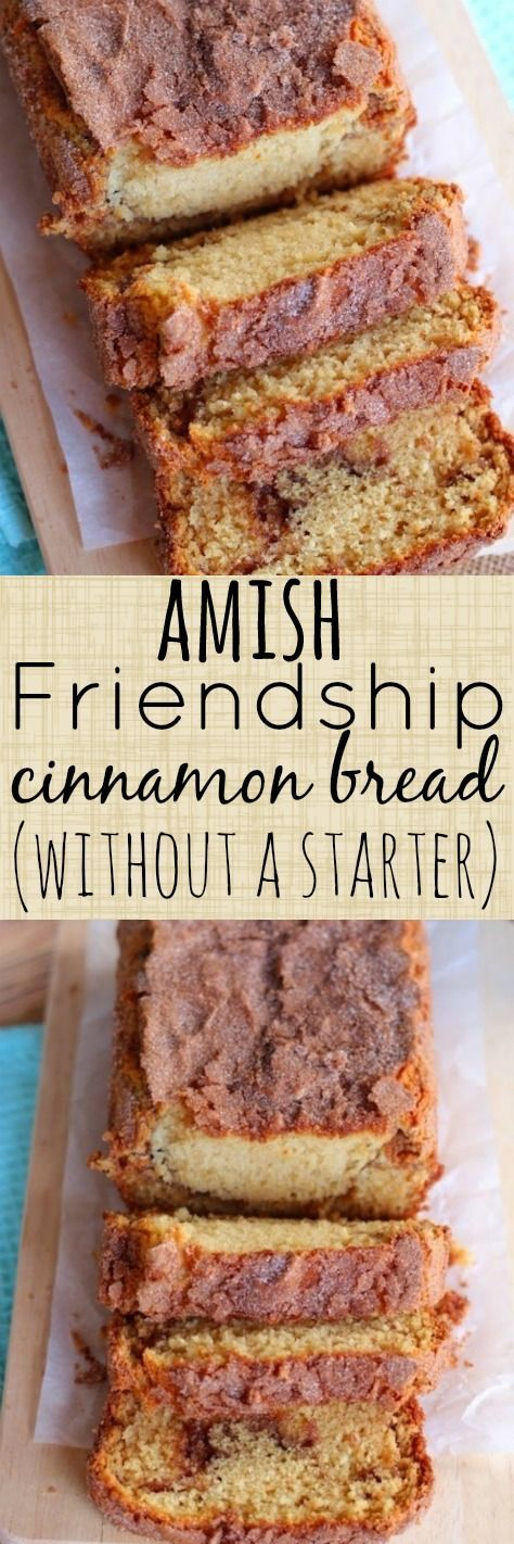 "Have you ever had real Amish Friendship Bread ?  The kind that is made with a ""starter""?  It is one of the best breads I have ever..."