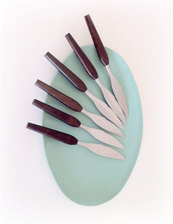 Danish Flatware Fleetwood Designer Stainless Knives
