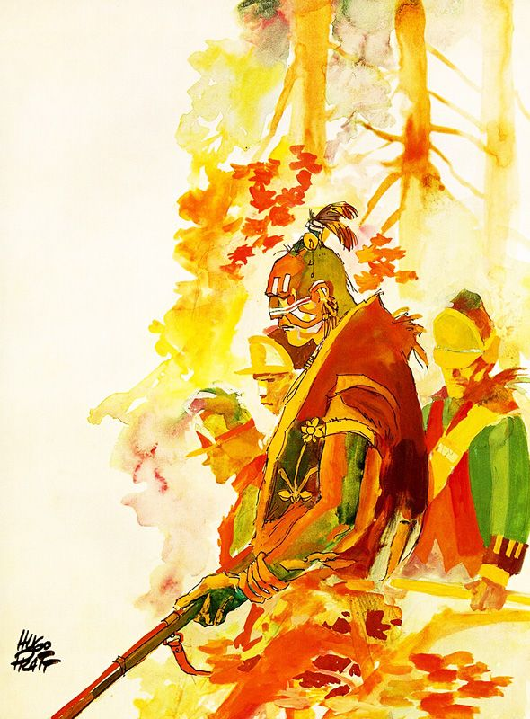 Hugo Pratt - Indian Summer (1983)