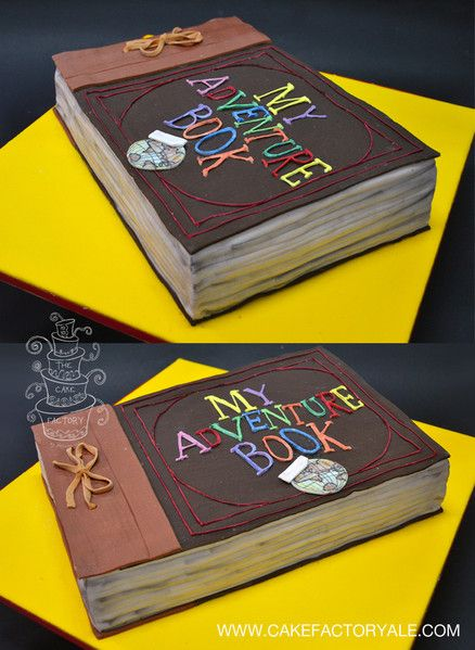 adventure book cake up movie