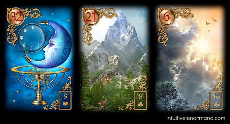 For intuitive Lenormand reading number 27 we have a question by a person who wants to know if it is time to move on from their 'divine counterpart.'