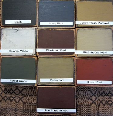 1000 ideas about primitive paint colors on pinterest
