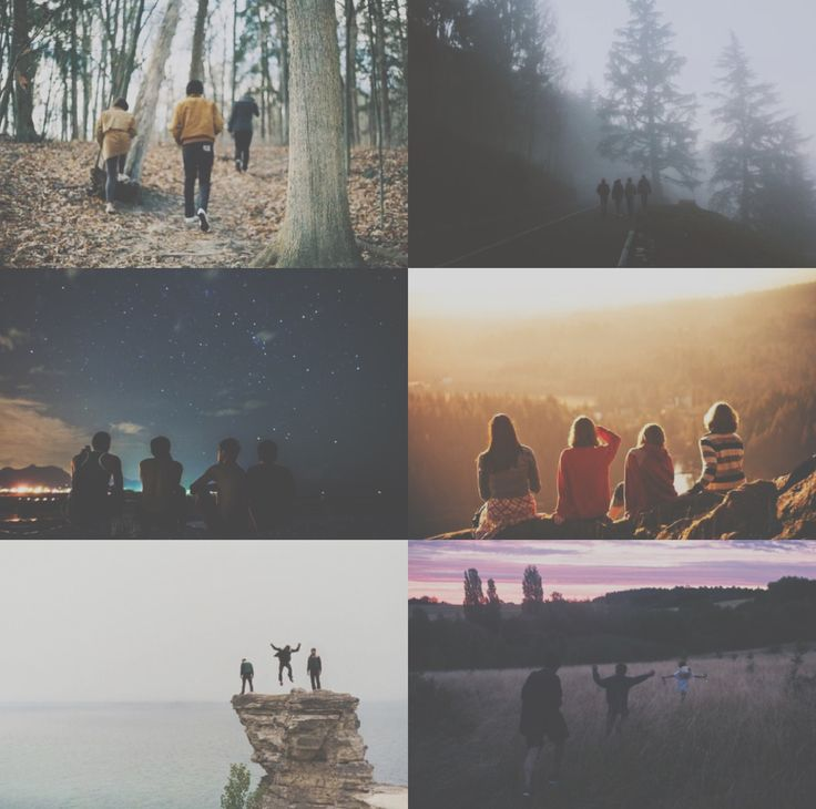 friends travel aesthetic