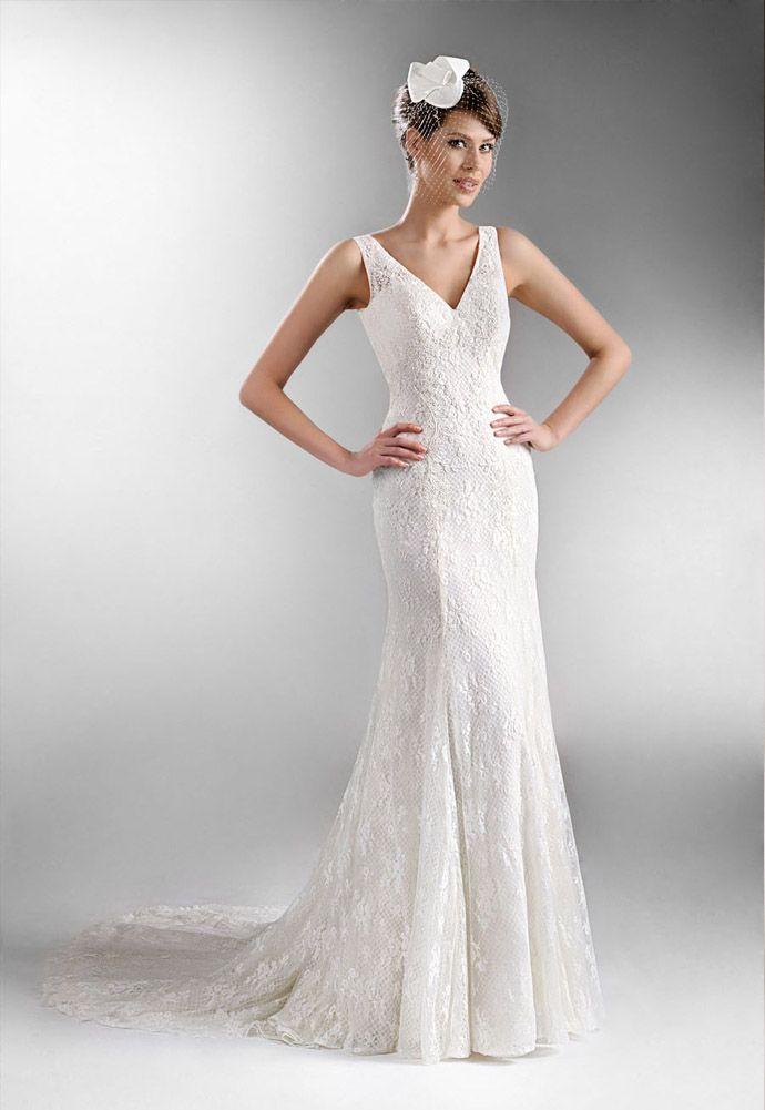 Kolekcja sukni ślubnych Agnes - koronkowe suknie ślubne