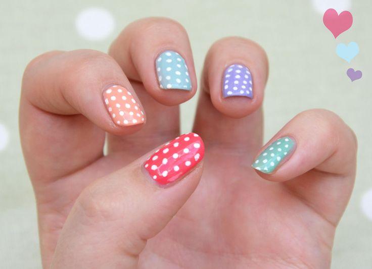 Mejores 74 imágenes de Spring Nail art - Uñas decoradas para ...