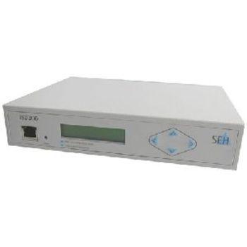 Seh ISD300 Print Server Intel IXP420 533MHz 256MB Ram 40GB HDD External USB Ethernet Linux OS M03712