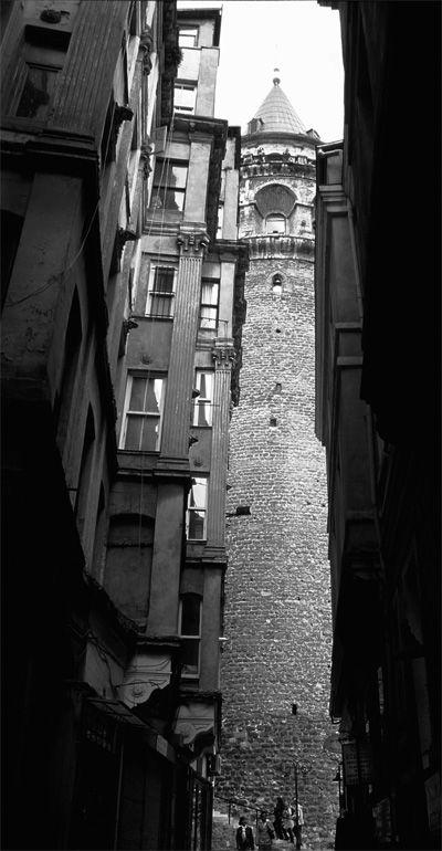 Galata Tower, İstanbul, Turkey.