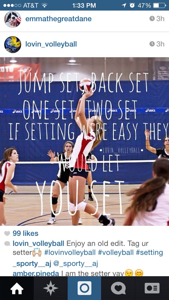 As a setter, I know we work our butts off to give our teammates the best opportunity to score (: