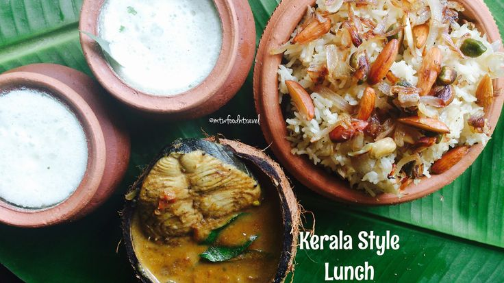 My Tryst With Food And Travel: LUNCH KERALA STYLE - PLATTER FROM GOD'S OWN COUNTR...