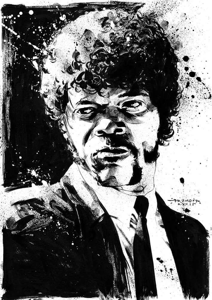 Jules Winnfield - Pulp Fiction - Drumond Art