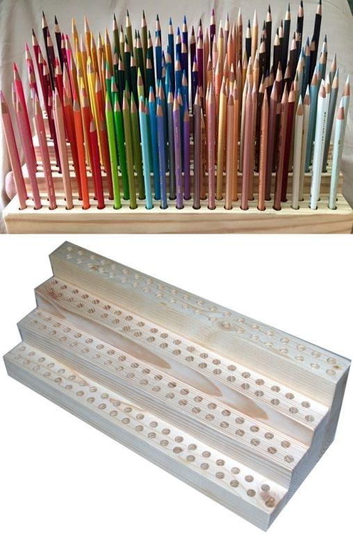 1000 ideas about pencil organizer on pinterest leather. Black Bedroom Furniture Sets. Home Design Ideas