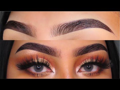 eyebrow tutorial  beginner friendly   youtube  eyebrow